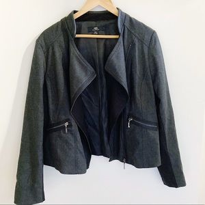Gray jacket / blazer | NWT | XL